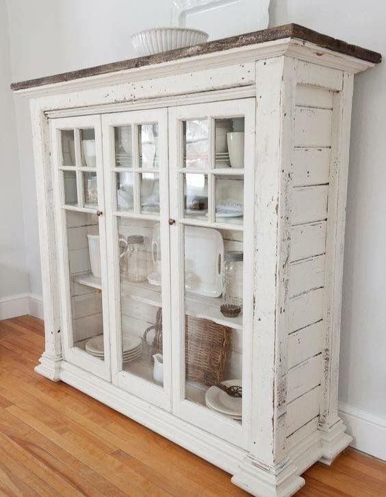 Crea un comedor shabby chic con estas ideas | Shabby, Furniture redo ...