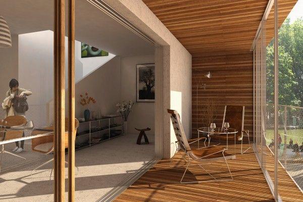 Loggia Jardin d\'hiver LESS - aavp architecture - vincent parreira ...