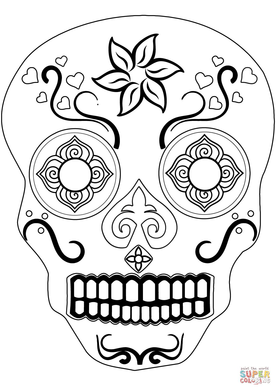 23+ Supercoloring skeleton ideas in 2021