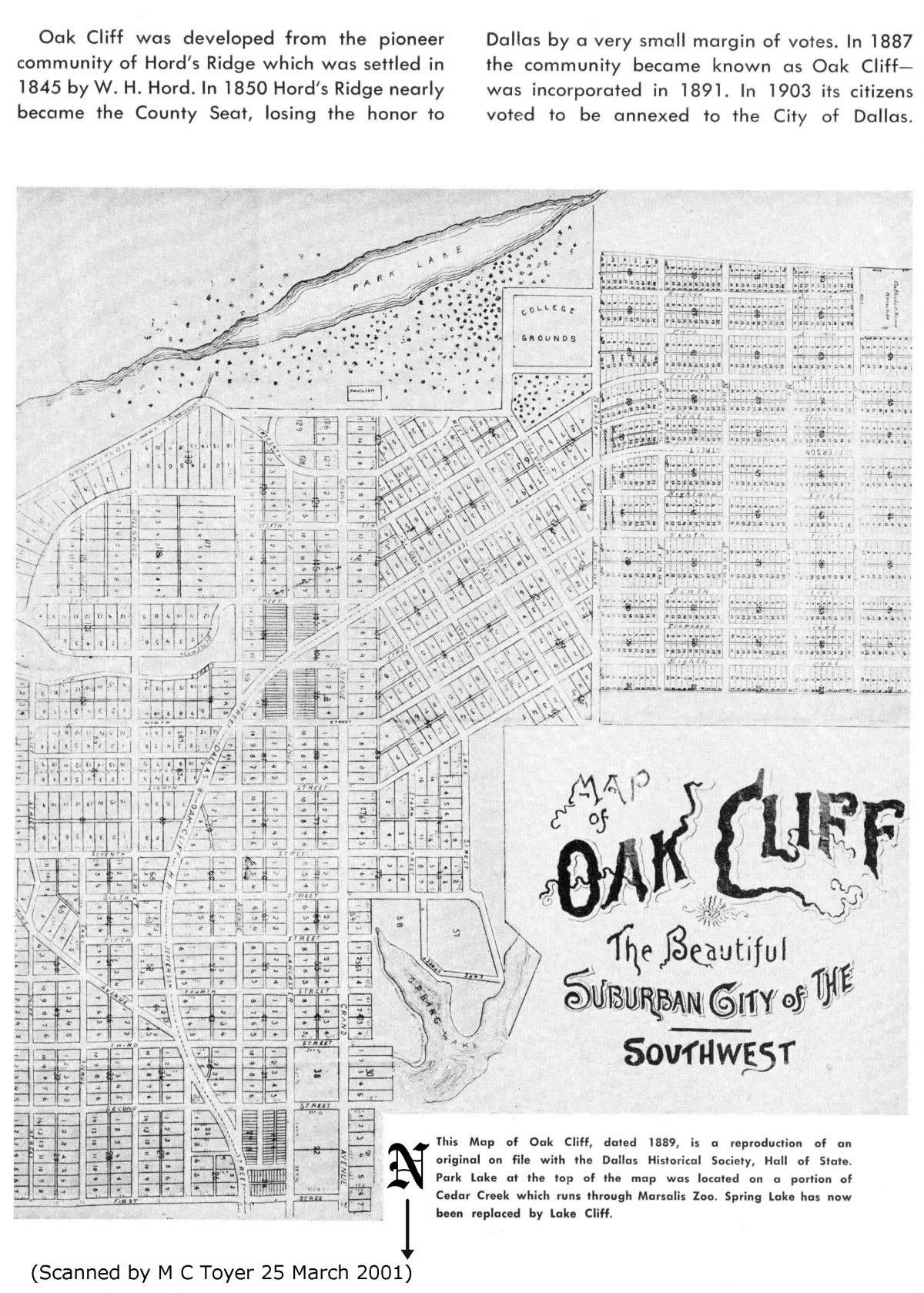 maps of Oak Cliff Dallas Google Search