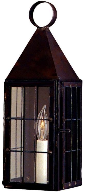 Colonial Williamsburg Wall Sconce Copper Lantern Wf Design