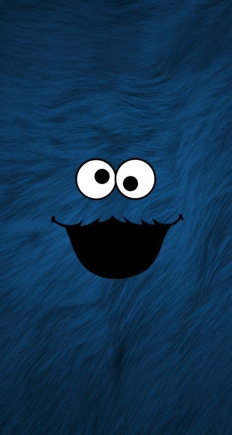 Pin By Ciccia Budina On Wallpapers Cookie Monster Wallpaper Monster Wallpaper Elmo Wallpaper