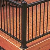 Best Close Up Of The Deck Railing Posts Available At Menards 400 x 300