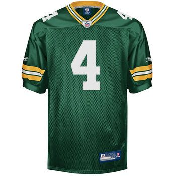 Brett Favre Authentic Green Bay Packers Home Jersey 125 Green Bay Packers Clothing Packers Clothing Nfl Outfits