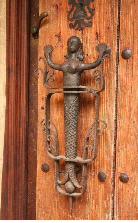 cool door knockers. Detailed Doors To Drool Over ♅ Art Photographs Of Door Knockers, Hardware \u0026 Portals - Mermaid Handle Cool Knockers E