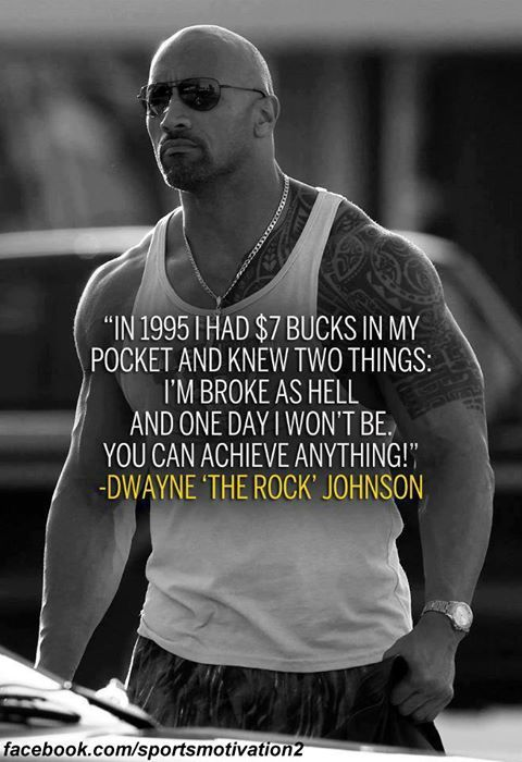 Pin By Quote Book On Popular Quotes By Celebrities And Famous People Rock Quotes The Rock Dwayne Johnson Work Motivational Quotes