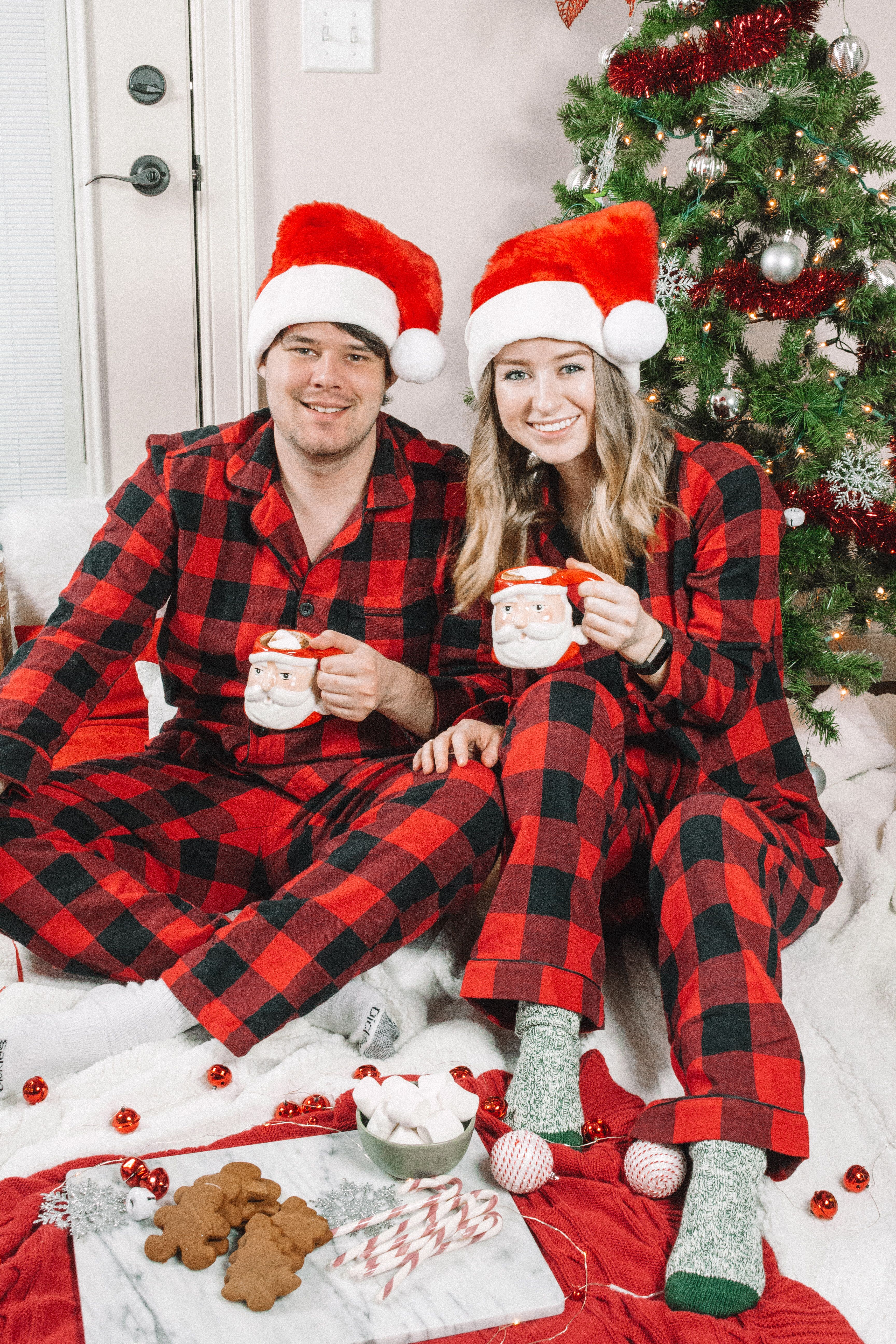 Happy Holidays! I am so in love with these matching