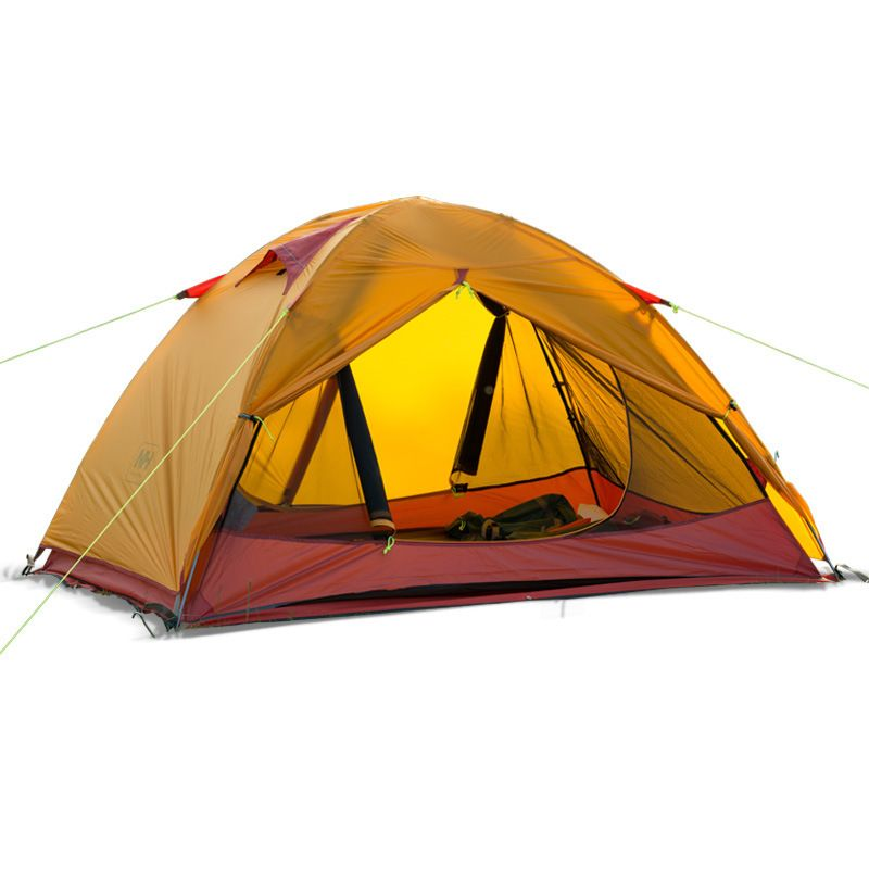 Naturehike Double Layer Tent Outdoor Hiking C&ing Tent Double Waterproof Windproof Anti UV 20D Silicone  sc 1 st  Pinterest & Naturehike Double Layer Tent Outdoor Hiking Camping Tent Double ...