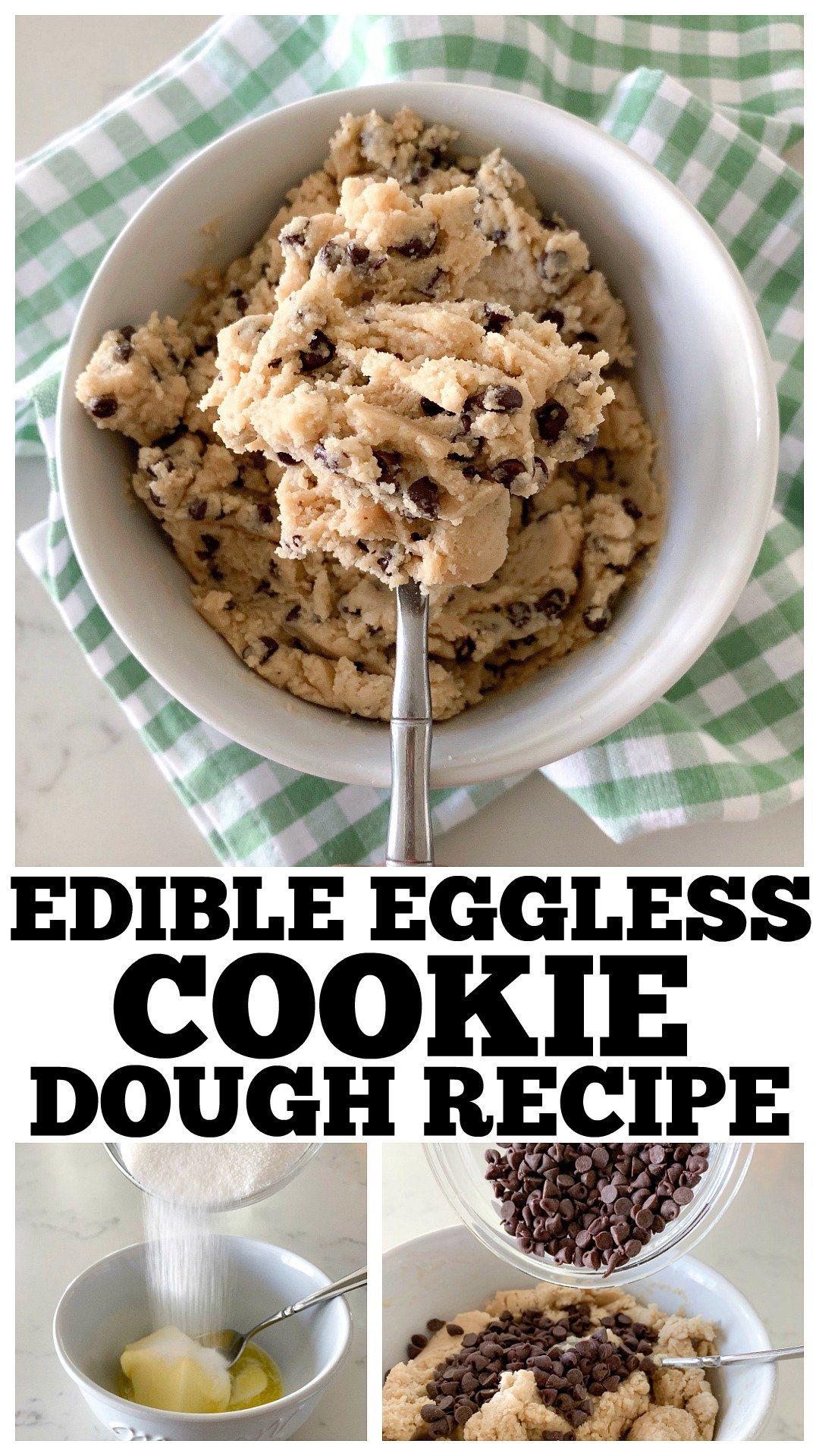 Edible Cookie Dough Best Edible Cookie Dough Recipe Recipe Edible Cookie Dough Recipe For One Edible Cookie Dough Recipe Cookie Dough Recipes