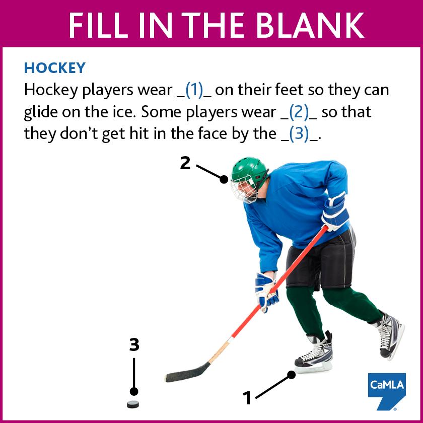 Do You Know Any Hockey Vocabulary Try This Quiz Teaching English Hockey Quiz