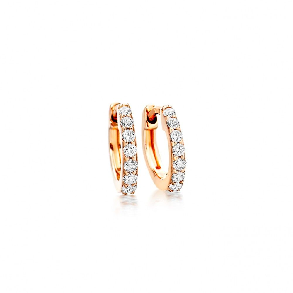 As Seen On Sienna Miller The Mini Halo Hoops Are Small Enough To Be Worn Every Day Diamonds Should