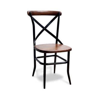 Cadeira cross oak top - 0,89x0,51x0,42 cm