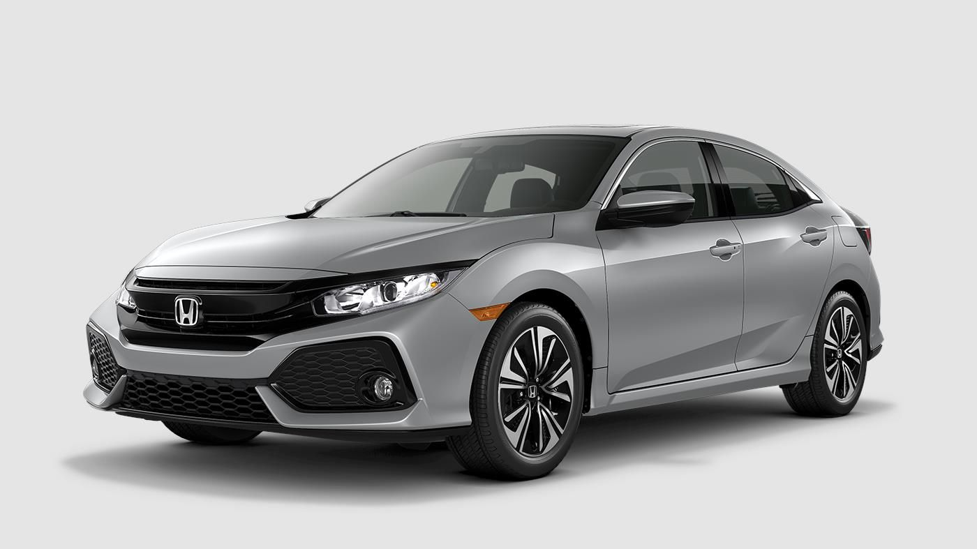 2018 Honda Civic Hatchback The Bold Hatchback Car