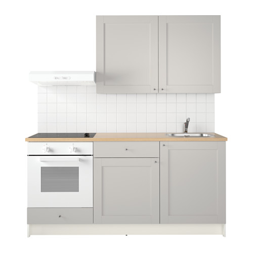 KNOXHULT Küche, grau Water traps, Basin mixer taps and Basin mixer