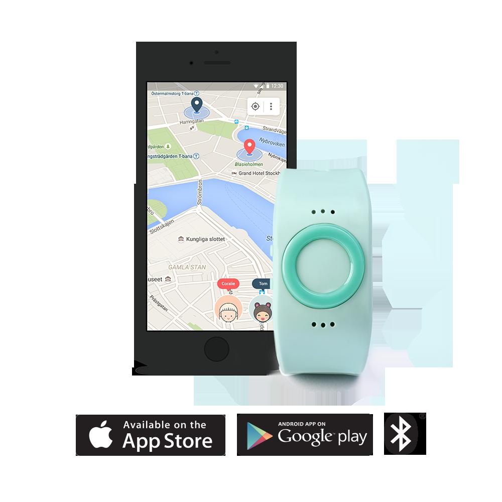 Tinitell Aqua. Wearable phone and gps tracker for kids