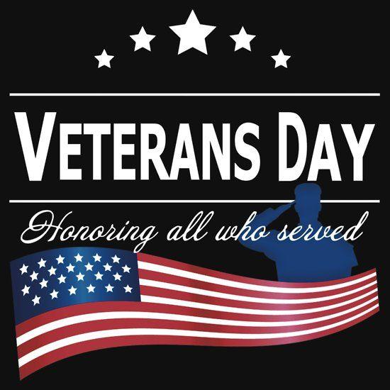 'Ehrung aller, die dem Veterans Day gedient haben' T-Shirt von Saruk