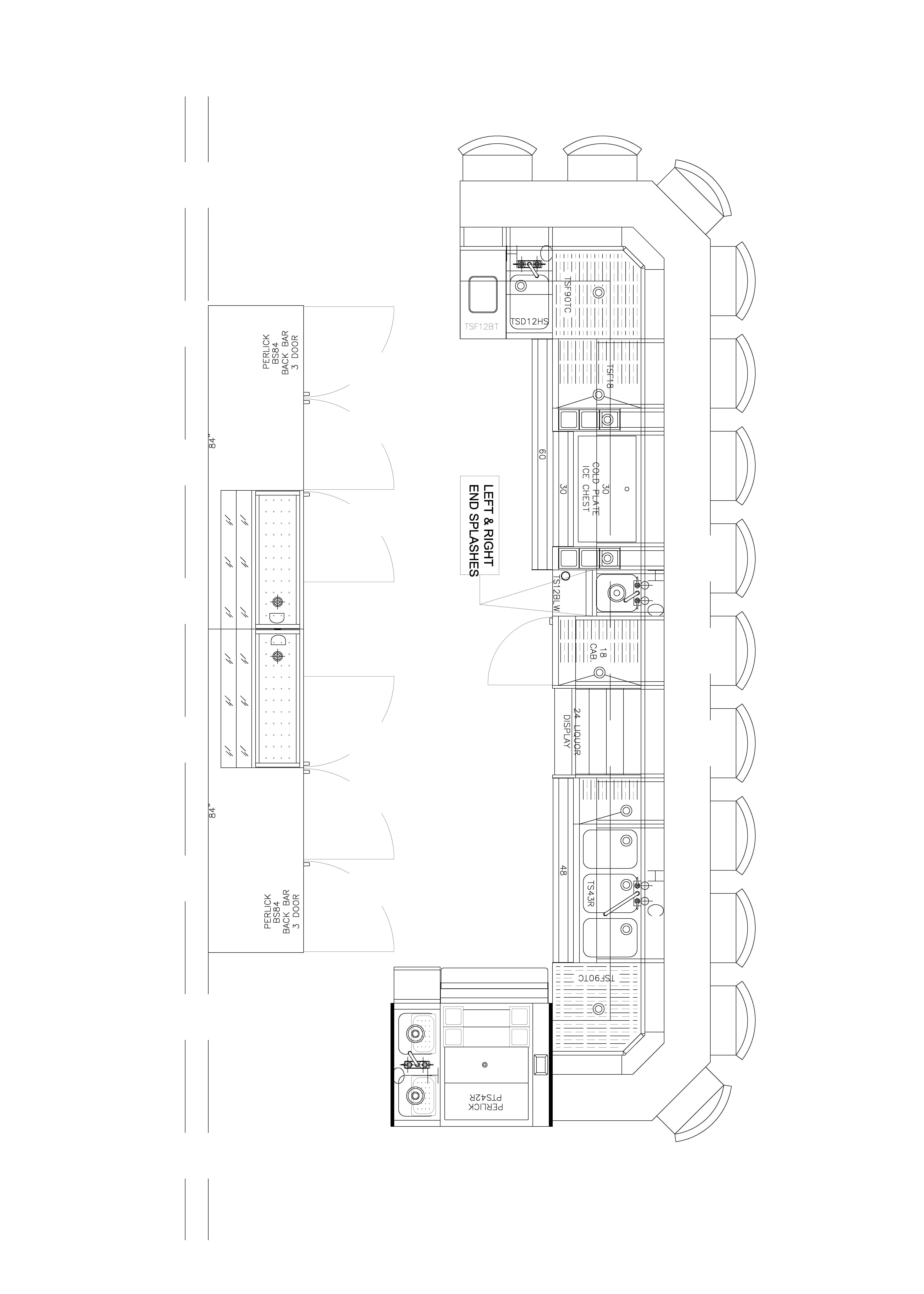 Foodservice Plans Bar Sample Design Download Kitchen