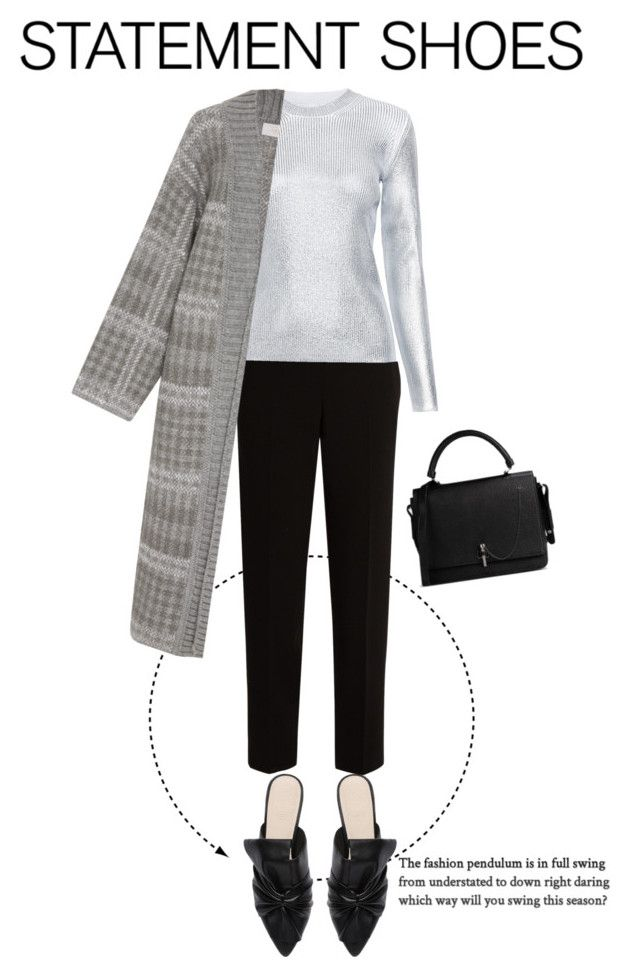 """""""mules"""" by faye-valentine ❤ liked on Polyvore featuring Witchery, The Row, Carven and Tak.Ori"""