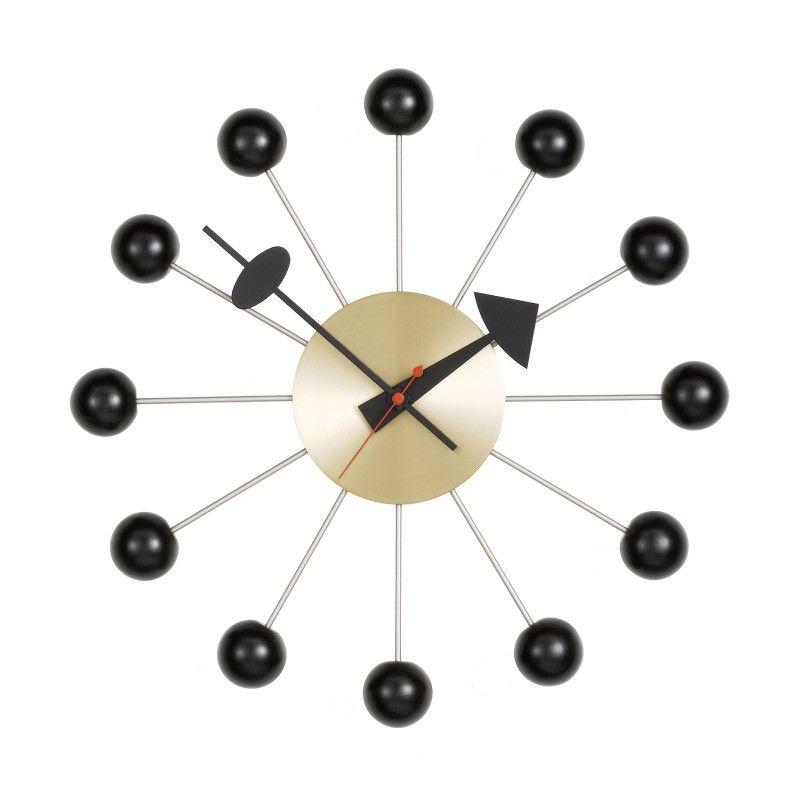 Vitra Ball Clock Messing Wanduhr