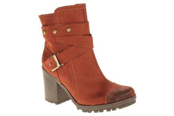 Ankle Boot Bebecê Conhaque