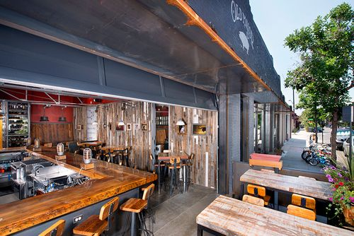 Old Major patio build out. #finartco #finart #denver # ...