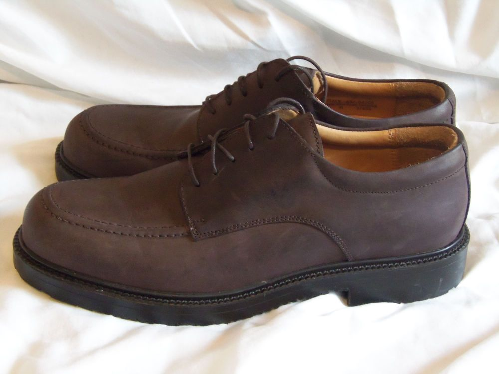 3888098535 Clarks Active Air Shoes 9 Medium Brown Leather Italian Made Waterproof  #ClarksActiveAir #Oxfords