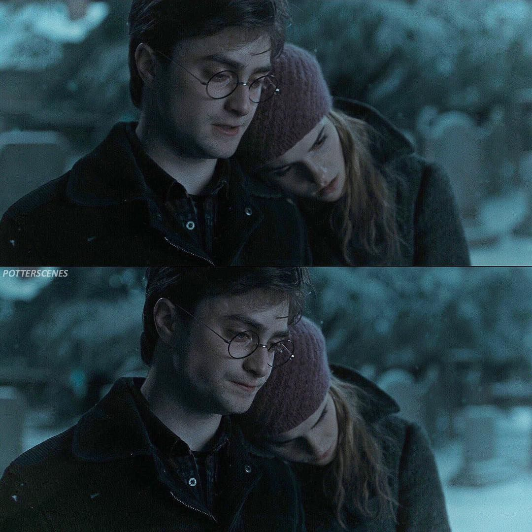 Godric S Hollow Graveyard Harry Potter And The Deathly Hallows Harmony Harry Potter Deathly Hallows Part 1 Harry And Hermione