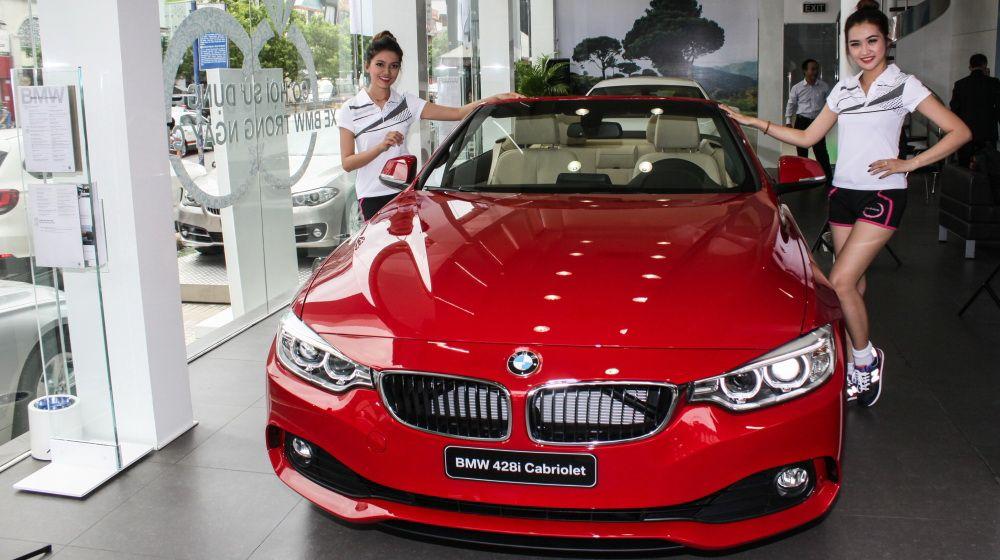 BMW 428i Convertible mui trần có giá chính hãng là 2,898 tỷ đồng #bmw #bmw428i #cars http://oto-xemay.vn/