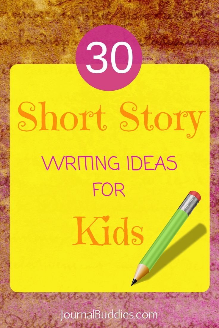 Short Story Ideas for Kids  Writing prompts for kids, Short story