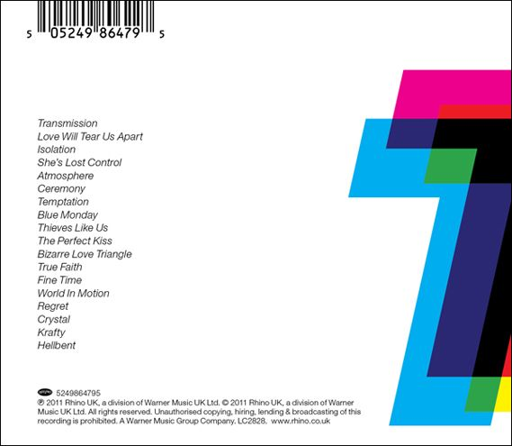Peter Saville - Joy Division / New Order compilation