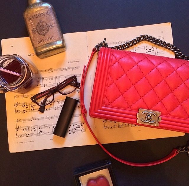 Hot Pink Chanel Bag