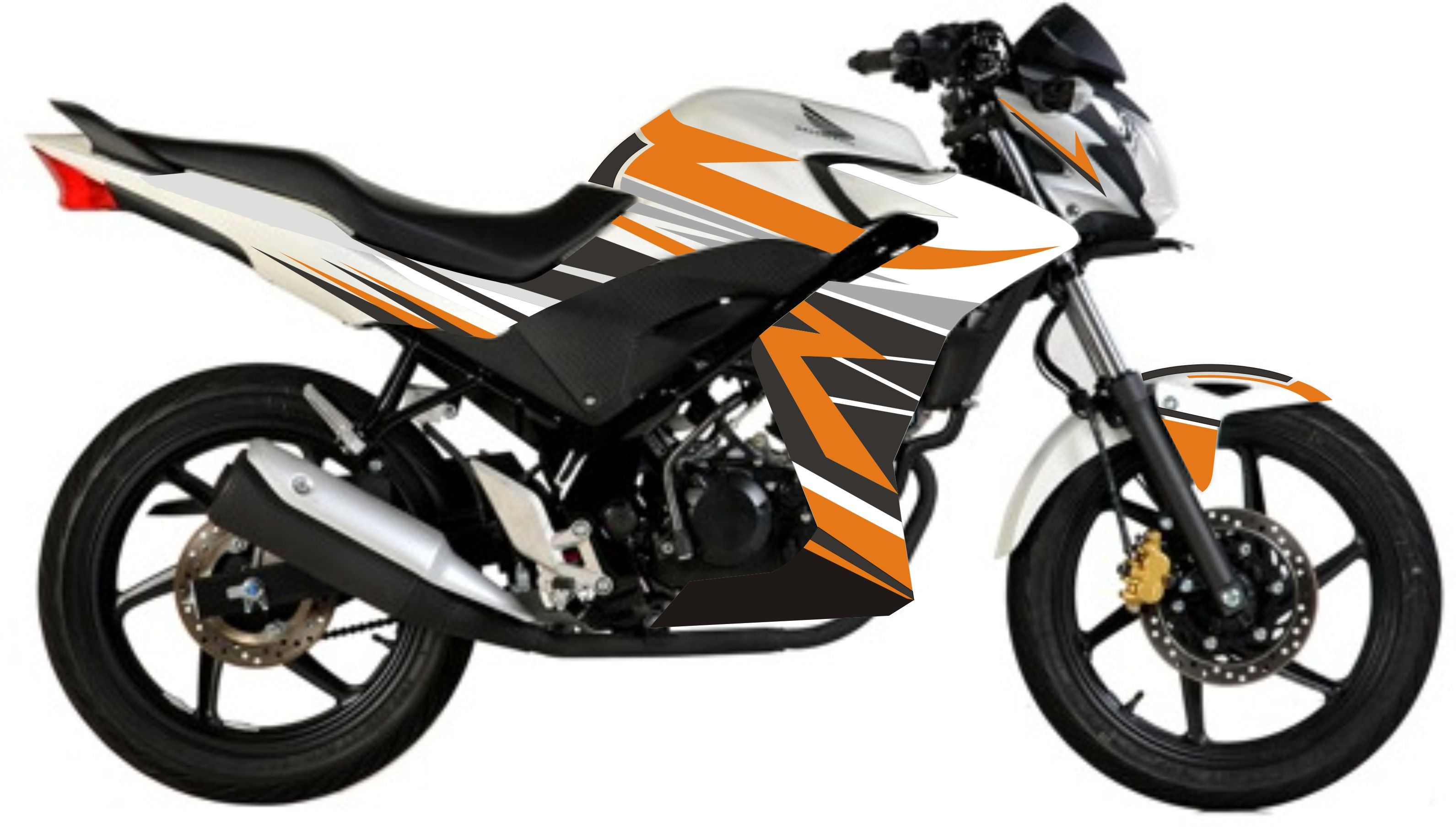 Honda CBR Orange Grey Striping Motos Pinterest Orange - Bridgestone custom stickers motorcycle