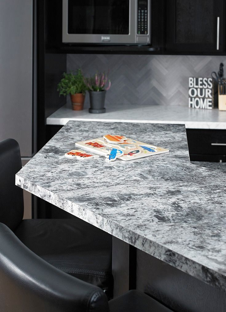 180fx By Formica Group Is A Luxury Laminate That Looks Like A Real Slab Of Stone At A Fraction Of The Cost 9305 Silver Countertops White Ice Granite 180fx