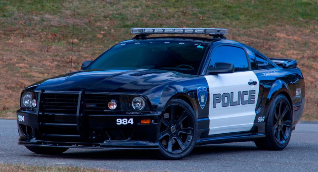How Much Would You Pay For This Original Transformers Barricade Saleen Mustang Carscoops Saleen Mustang Ford Mustang Saleen Ford Mustang