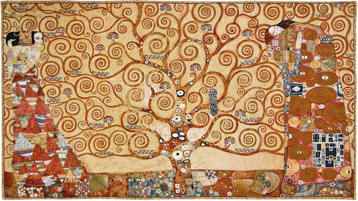 дерево жизни климт постер конструкции