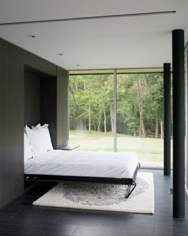 Bett Zum An Die Wand Klappen schrankbett selber bauen anleitung und trendy vorschläge design
