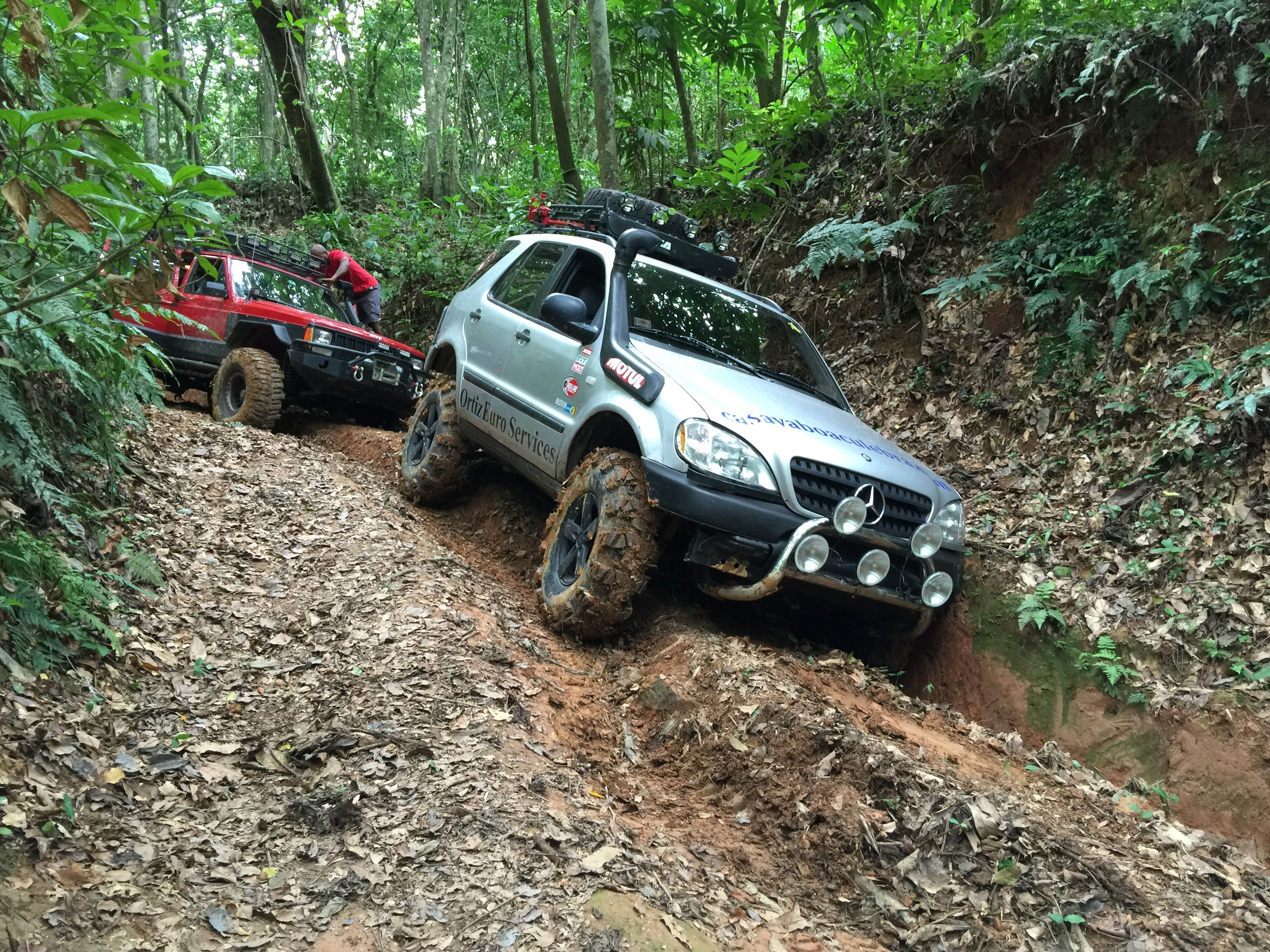 Extreme Off Road In Puerto Rico Mercedes Ml Off Road