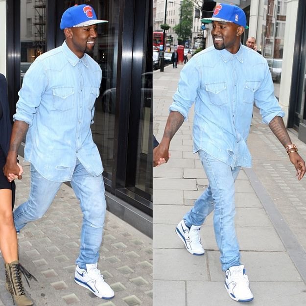The Double Denim Look | Men's Fashion Jeans: The Light Wash Looks ...