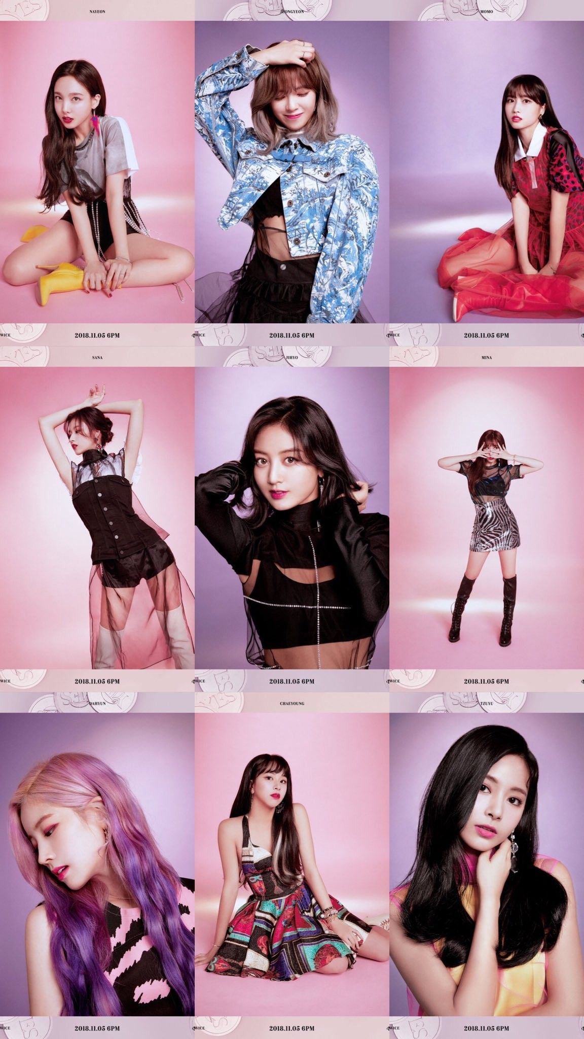 Twice Yes Or Yes Twicemedia: TWICE #Yes_or_Yes #The_6th_Mini_Album