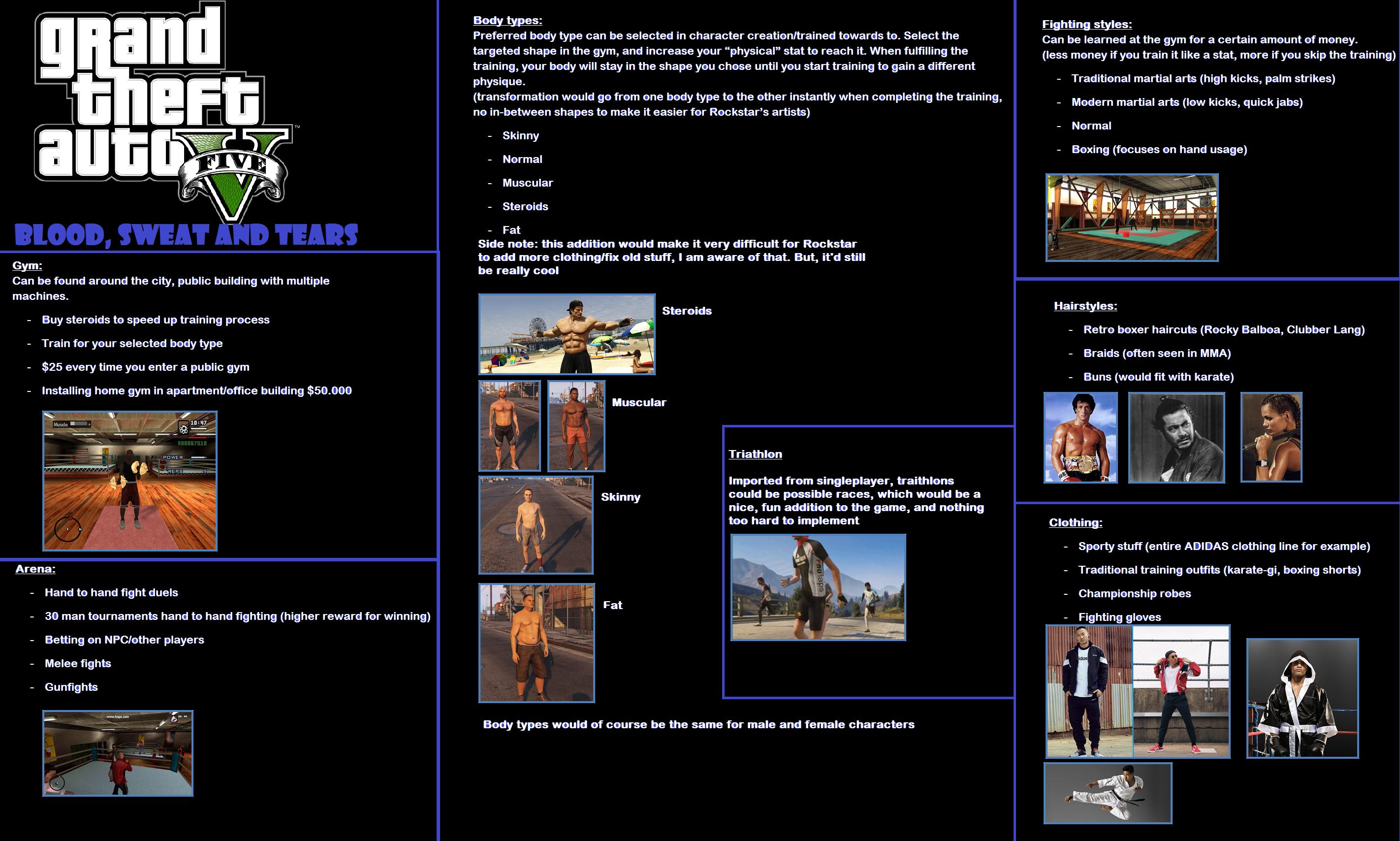 GTA 5 gym update concept #GrandTheftAutoV #GTAV #GTA5