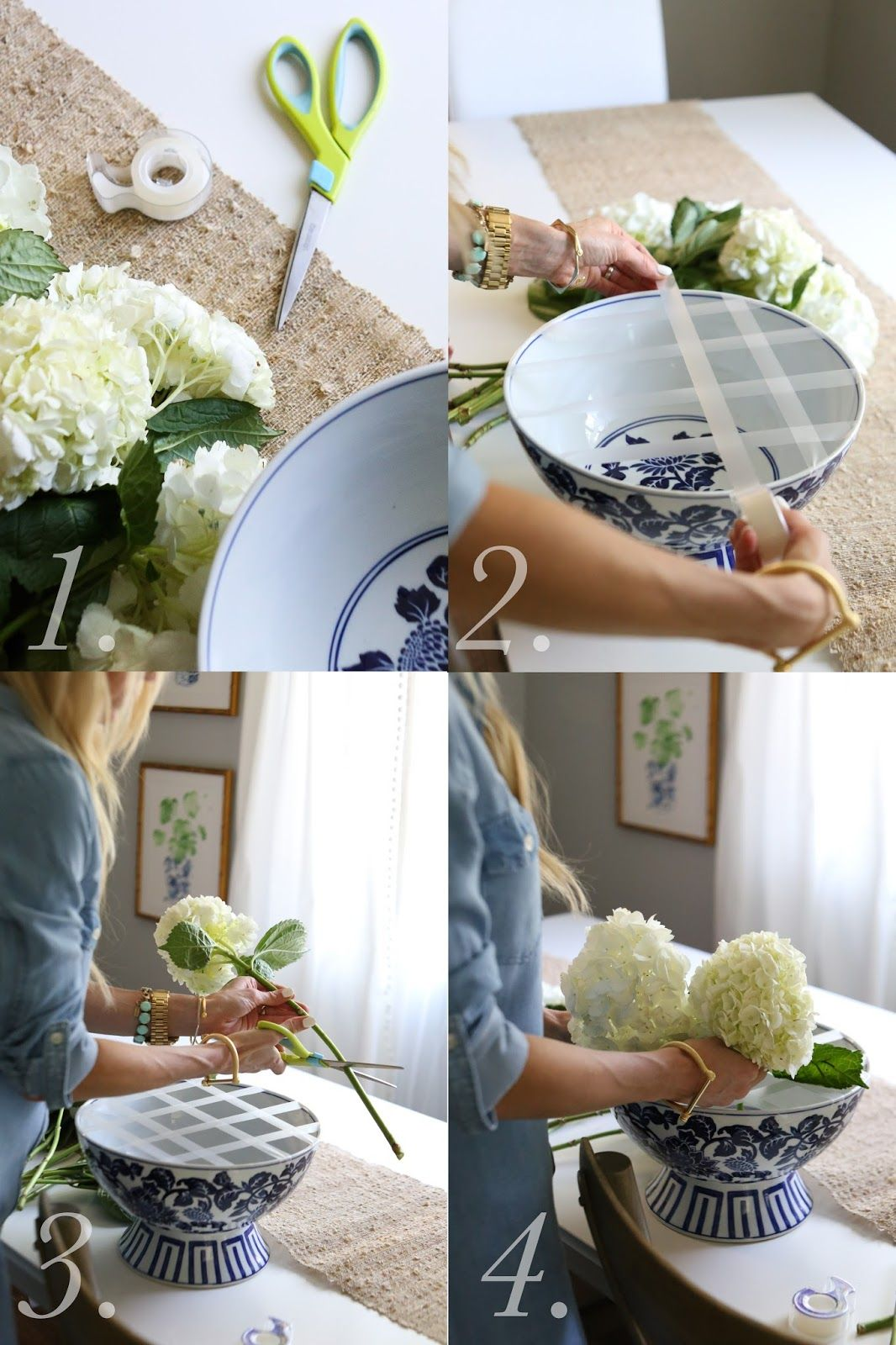 A SIMPLE TRICK FOR THE PERFECT SPRING FLOWER ARRANGEMENT {TUTORIAL #flowerdresses