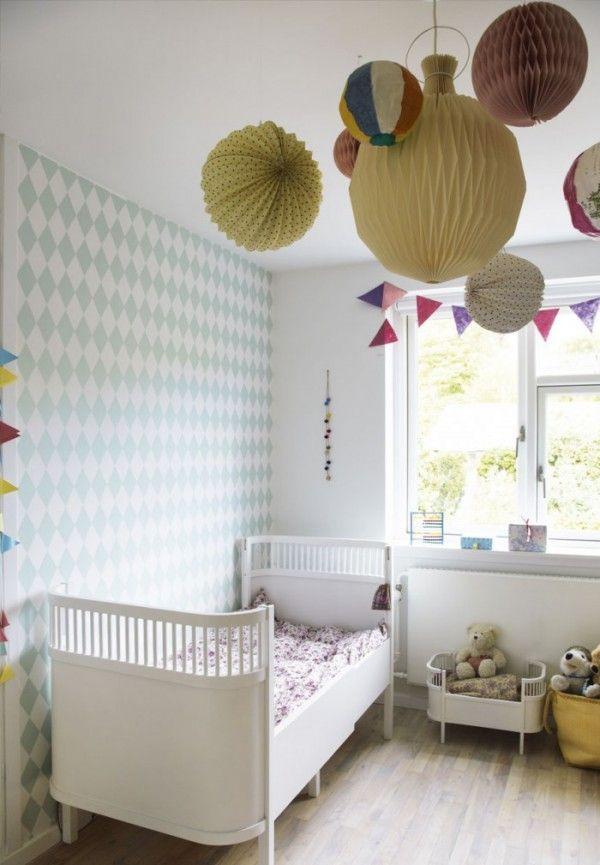Chambre Bébé Fille | Papier peint pastel, Chambre bébé fille et Bébé ...