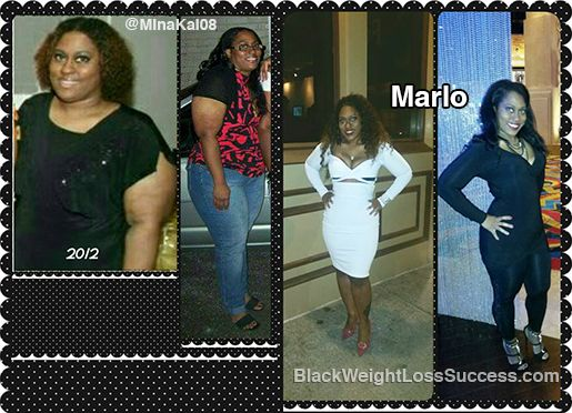 Marlo Lost 100 Pounds Before And After Weight Loss Stories
