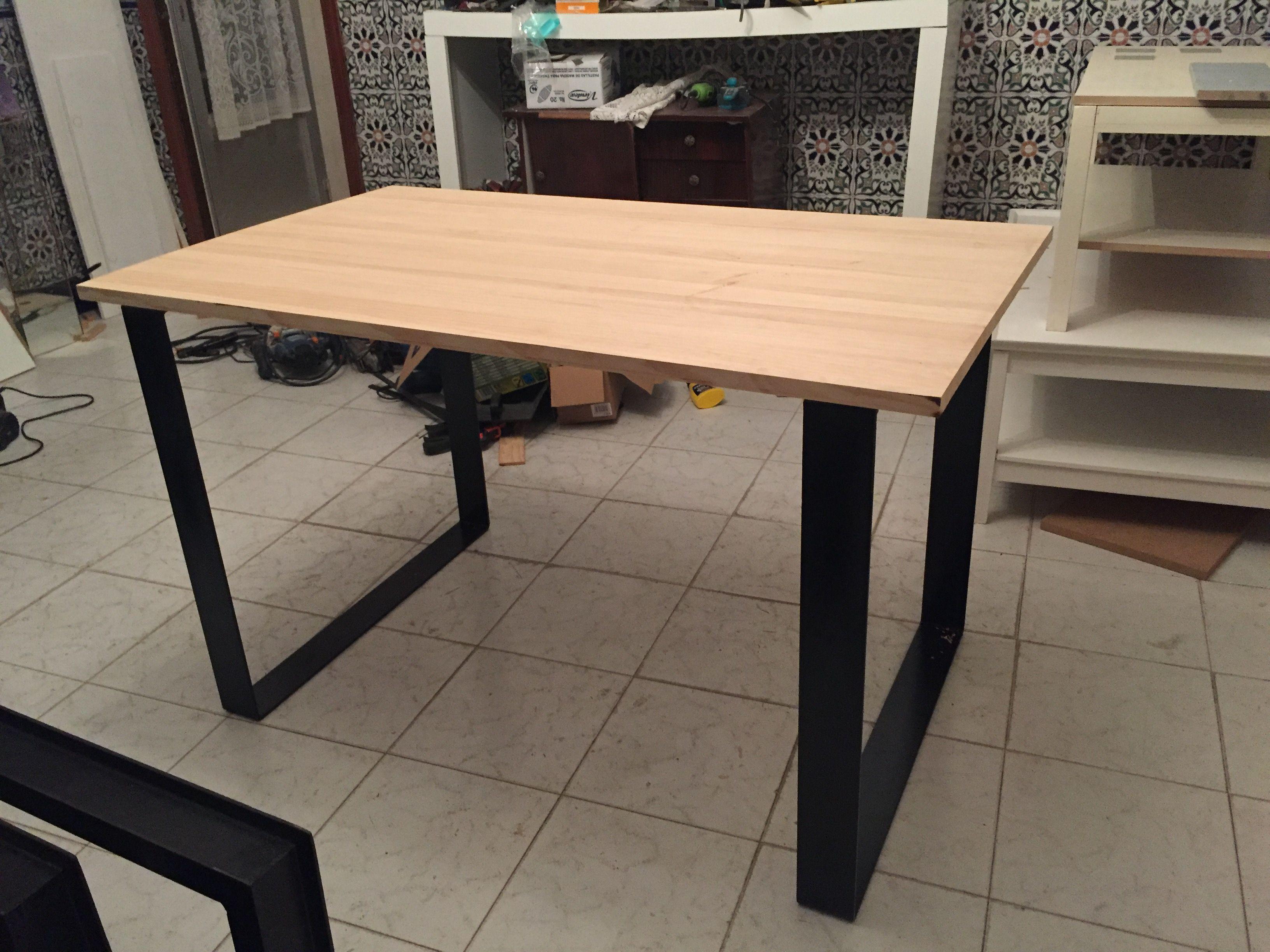 Mesa estilo industrial vendida en wallapop 280 euros hacen m s medidas mesa estilo industrial - Wallapop mesa comedor ...