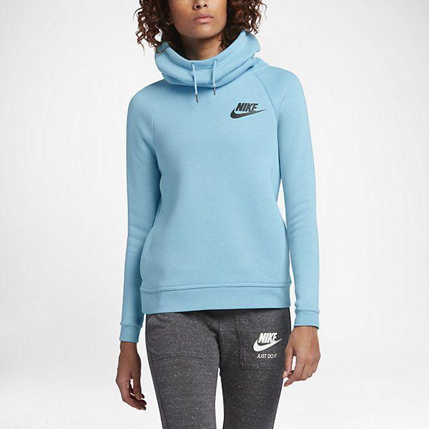10181da3834 Nike Sportswear Rally Funnel Neck Women s Sweatshirt Nike Para Meninas