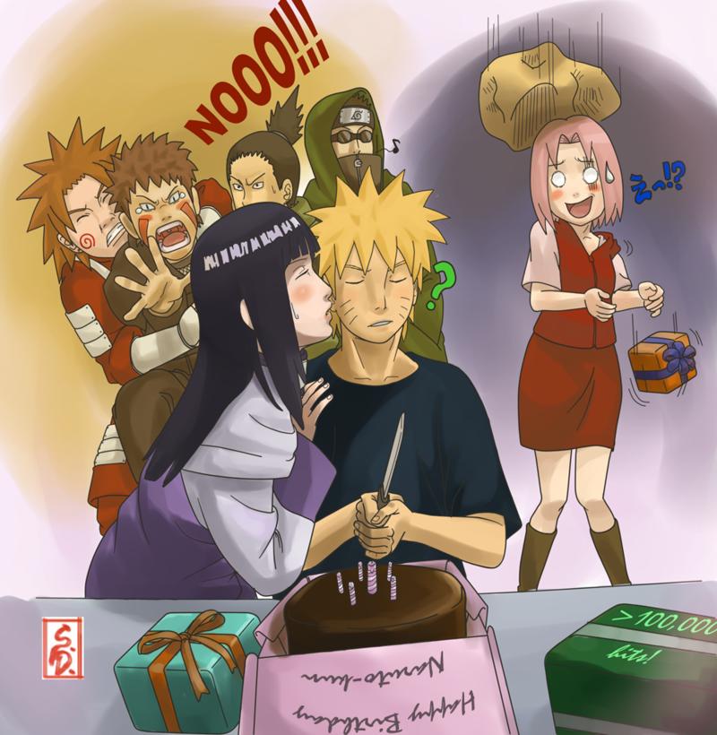 over100KHappy Birthday Naruto by sharingandevil on