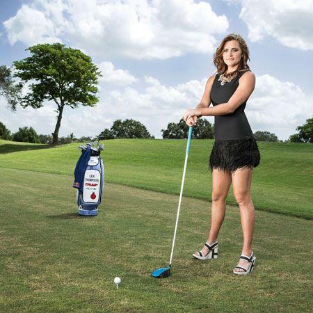 Lexi thompson underwater golf shoot youtube