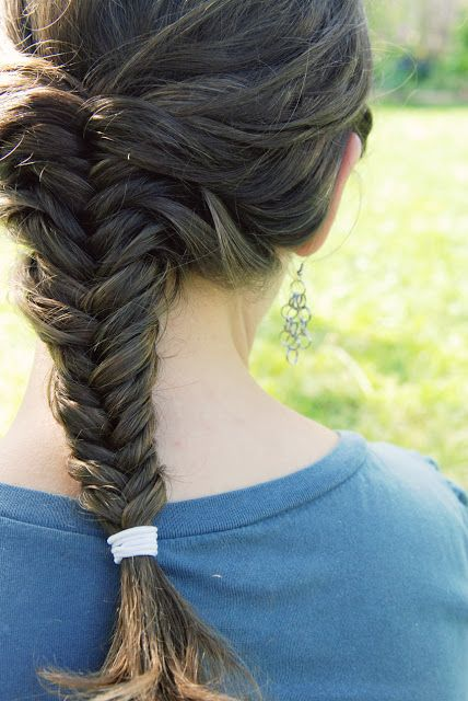punk projects: Fishtail Braids and Pretty Earring DIY with Inna!