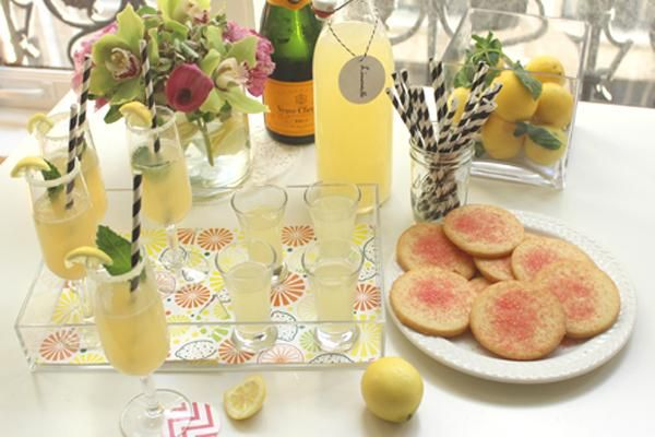 Lovely Limoncello Cocktail Party | Celebrations.com #limoncellococktails