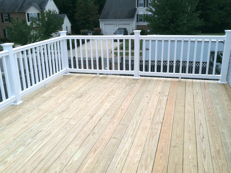 White Vinyl Railings For Decks Google Search Around
